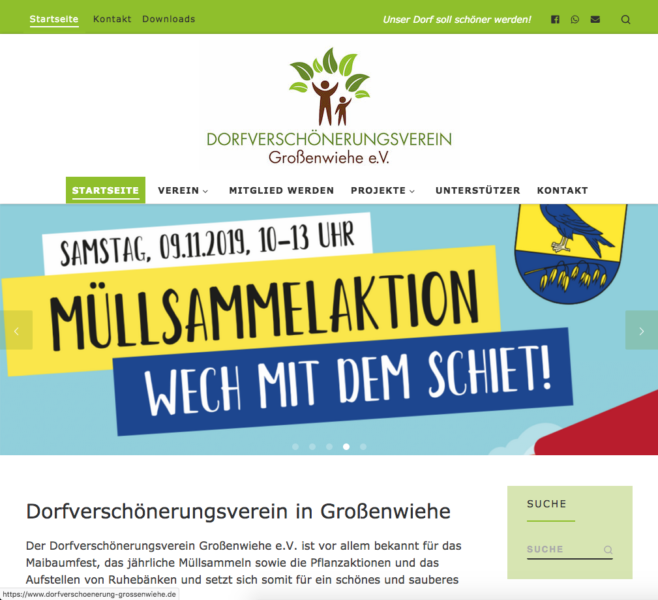 Dorfverschönerungsverein Großenwiehe e.V.